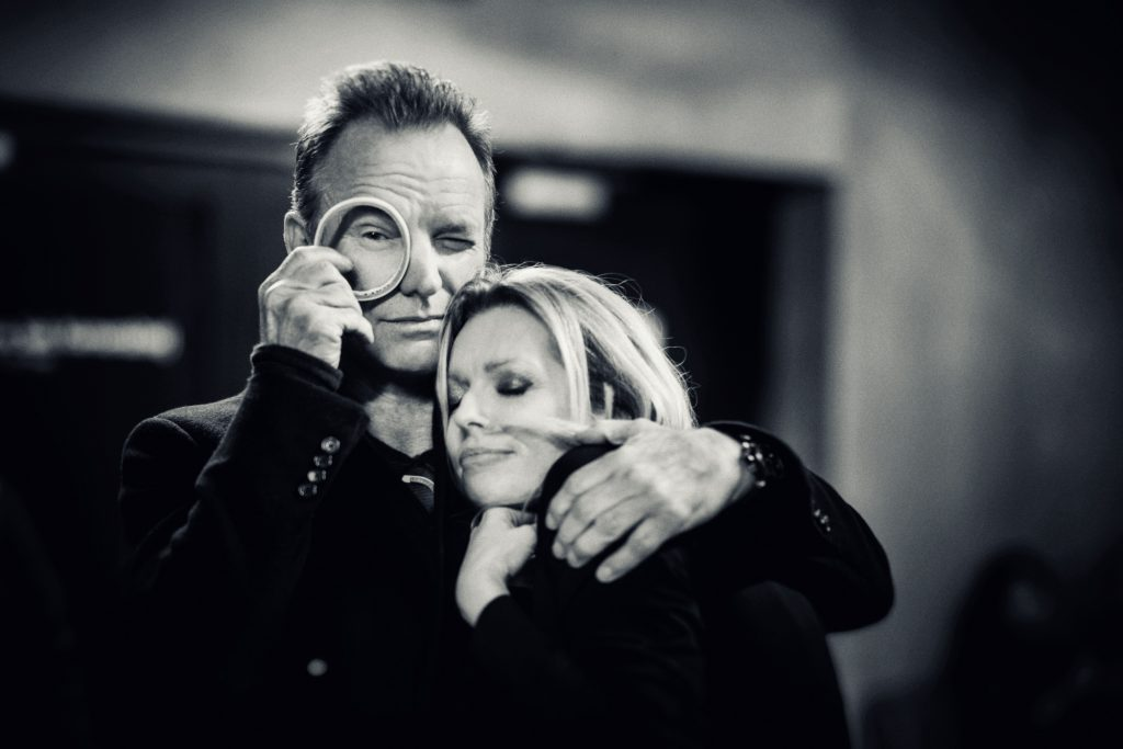 Anna Maria Jopek and Sting - photo: Robert Wolański