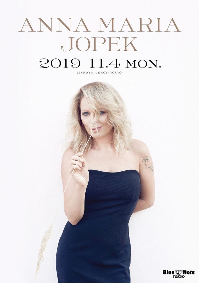 ANNA MARIA JOPEK  2019 11.4 MON Blue Note TOKYO